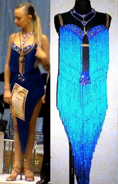 Платья для латины фото с бахромой